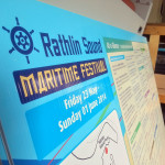 Rathlin Sound Maritime Festival Correx Sign
