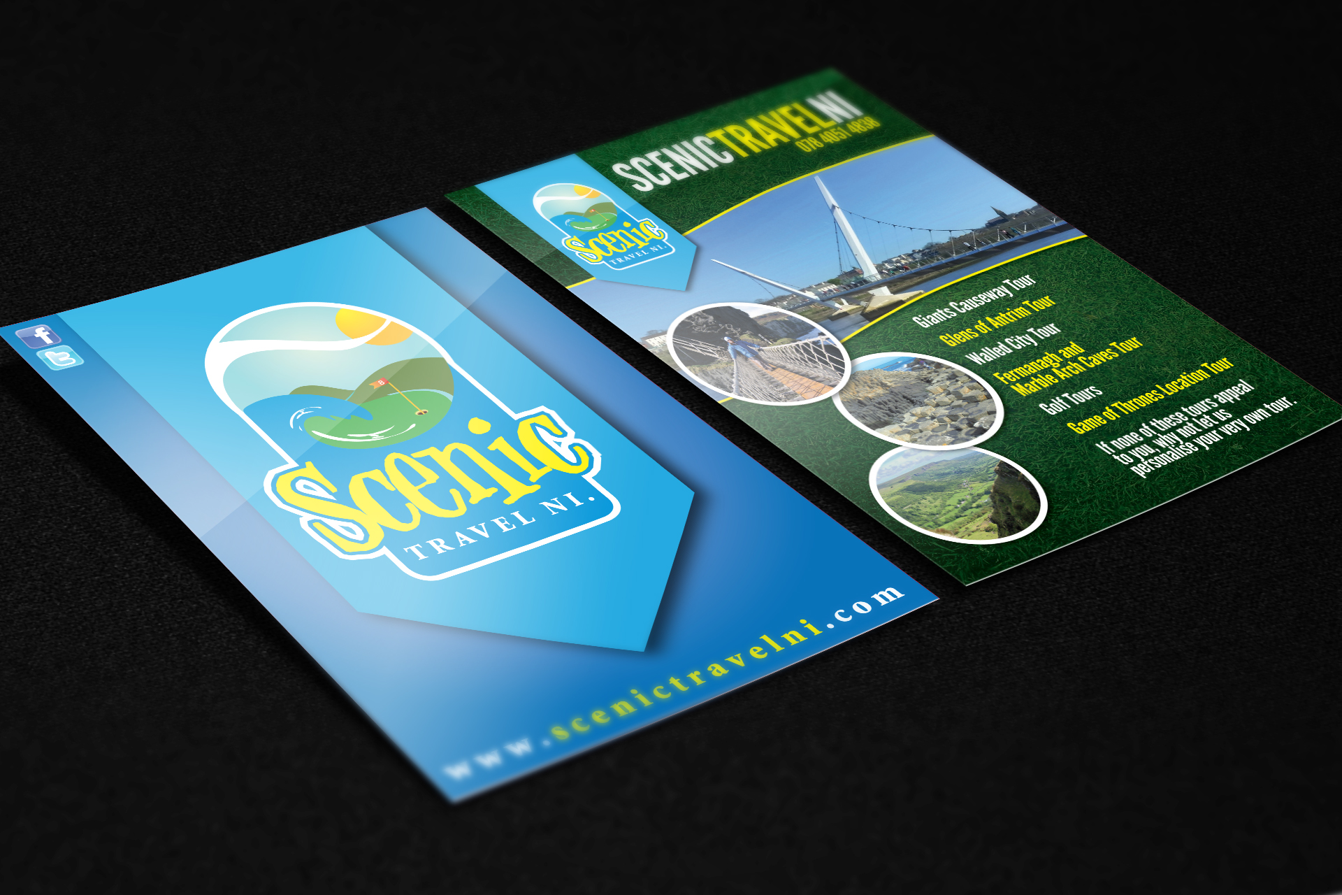 Flyer-A6-Double-Sided-Scenic-Travels-NI1